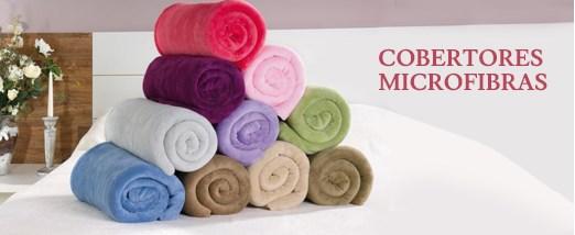Cobertores Microfibras