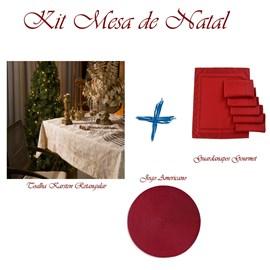 Kit Mesa de Natal Luxo