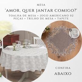 Kit namorados - Jantar Romântico