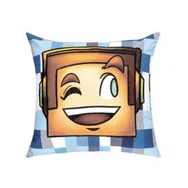 Capa de Almofada Kacyumara Authentic Games Estampa 6 B