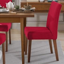Capas de Cadeira Vitalícia Vermelho