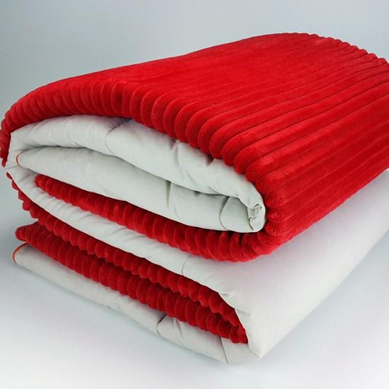 Coberdrom Queen Rubi forro 100% algodão Vermelho