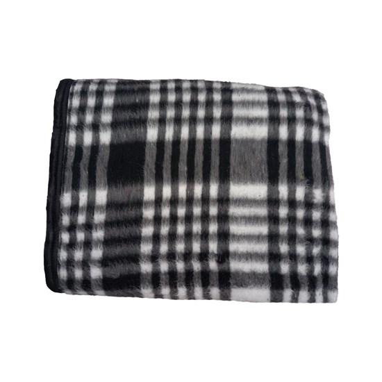 Cobertor Casal Beato Anchieta Resfibra Preto