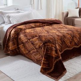 Cobertor Casal Dyuri Pelo Alto Madeira