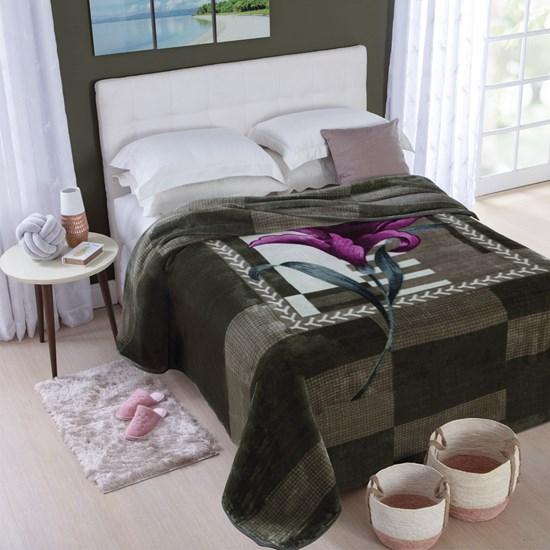 Cobertor Casal Jolitex Dyuri Extra Macio Oregon