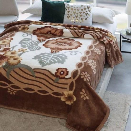 Cobertor Casal Jolitex Dyuri Extra Macio Rosas Urbanas