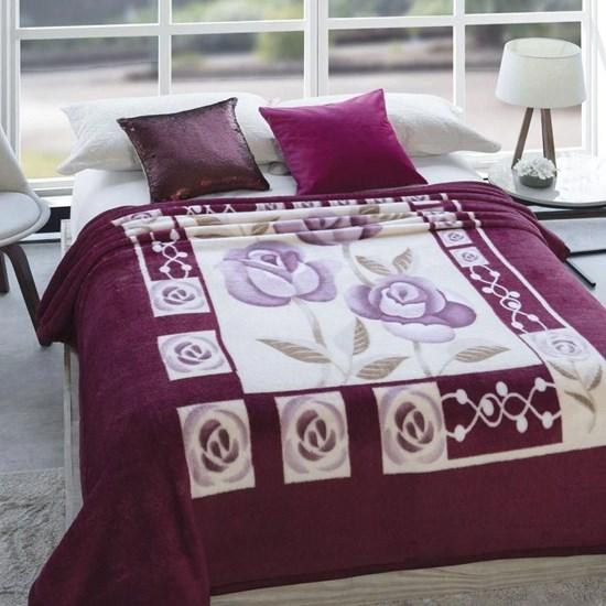 Cobertor Casal Jolitex Dyuri Extra Macio Suavidades Vinho