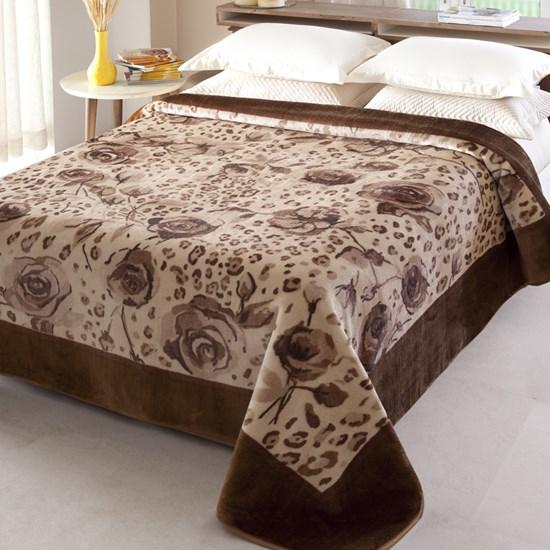 Cobertor Casal Raschel Java Jolitex Ternille