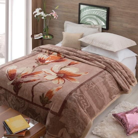 Cobertor Casal Tradicional Pêlo Alto Antique Jolitex Ternille