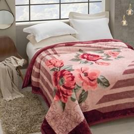 Cobertor Casal Tradicional Pêlo Alto Rozen Jolitex Ternille