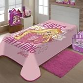 Cobertor Juvenil Raschel Barbie Jolitex Ternille