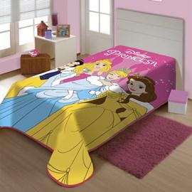 Cobertor Juvenil Raschel Charme de Princesa Jolitex Ternille