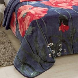 Cobertor King Raschel Florescer Jolitex Ternille