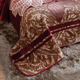 Cobertor King Raschel Mosaic Jolitex Ternille