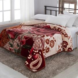 Cobertor King Size Raschel Double Action Alicante Jolitex Ternille