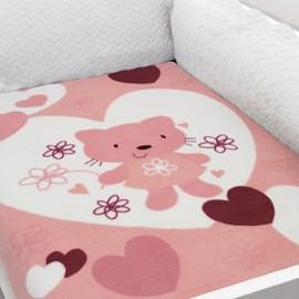 Cobertor para Berço Rozac Baby Soft Estampa 1