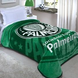 Cobertor Solteiro Corttex Palmeiras