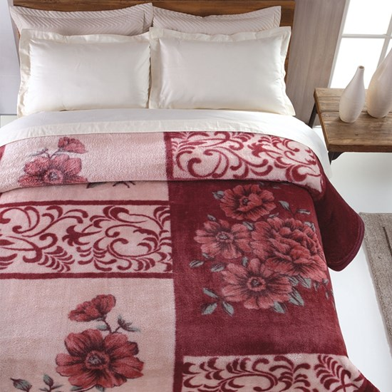 Cobertor Tradicional Casal Jolitex Nantes Pêlo Alto