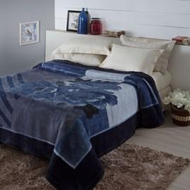 Cobertor Tradicional Casal Jolitex Tramore Pêlo Alto