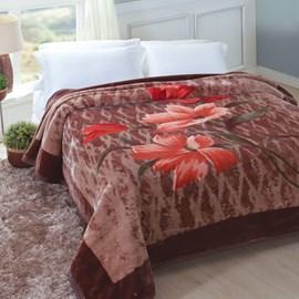 Cobertor Tradicional King Size Jolitex Lucerna Pêlo Alto