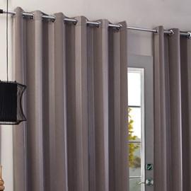 Cortina Carol Com Forro Voil  2,00m x 1,80m Marrom