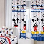 Cortina Infantil Santista Basic 2,00m x 1,80m Mickey Play