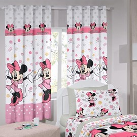 Cortina Infantil Santista Basic 2,00m x 1,80m Minnie Happy
