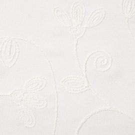 Cortina Rústica Plus 3,00m X 2,50m Bella Janela Orion Branco