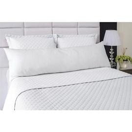 Fronha Avulsa Para Travesseiro de Corpo Abraço Colors Lavive Branco