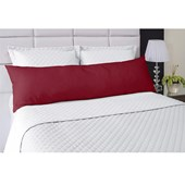 Fronha Avulsa Para Travesseiro de Corpo Abraço Colors Lavive Vermelho
