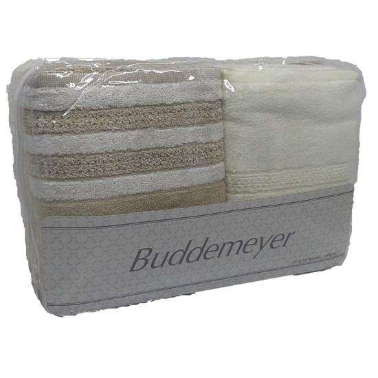 Jogo de Banho Elegant Colors Buddemeyer Bege 1415/005 5 peças