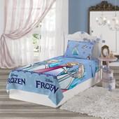 Jogo de Cama Infantil Microfibra Frozen Lepper 3 Peças