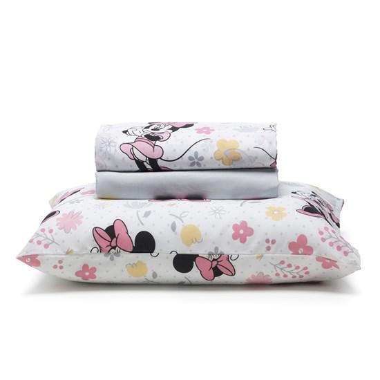 1b809d32eb Jogo de cama Infantil Solteiro Minnie Disney Santista