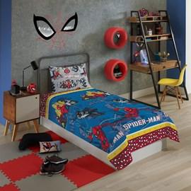 Jogo de Cama Infantil Spider-Man 3 Peças Lepper