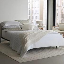 Jogo de Cama King Size The East V Bege 300 Fios Algodão Egípcio By The Bed