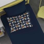 Jogo de Cama Mickey Disney Solteiro Malha 100% algodão 2 peças