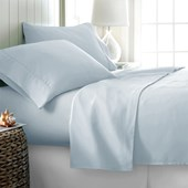 Produto Jogo de Cama Queen 600 fios Corttex Home Design Azul