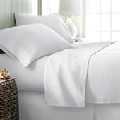 Produto Jogo de Cama Queen 600 fios Corttex Home Design Branco