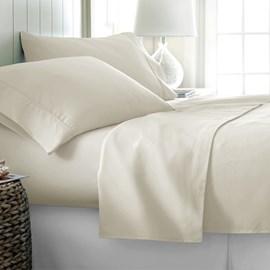 Jogo de Cama Queen 600 fios Corttex Home Design Marfim