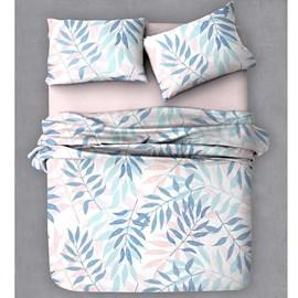 Jogo de Cama Queen Color Art 150 Fios Des: 314 Azul A