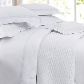 Jogo de Cama Queen Sultan Naturalle Fashion Eternity Branco 300 Fios 4 Peças