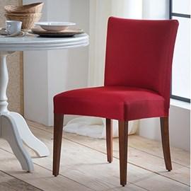 Kit 6 Capas de Cadeira Adomes Vermelho