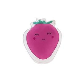 Kit Colcha Infantil Corttex Playttex Frutas Pink 3 Peças