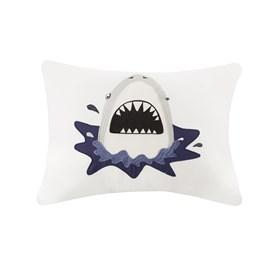 Kit Colcha Infantil Corttex Playttex Tubarão Marinho 3 Peças
