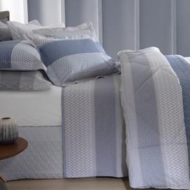 Kit Duvet King Naturalle Fashion Percal 200 fios Milão 3 Peças