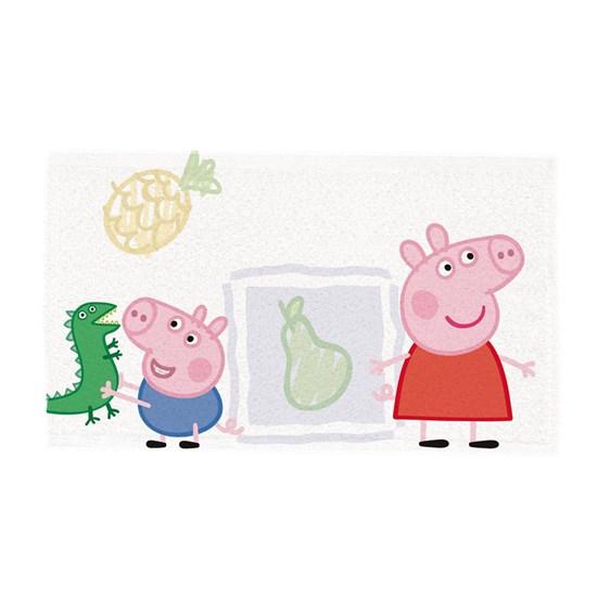 Kit Toalha de Lancheira Infantil c/ 6 unid Peppa Pig Lepper