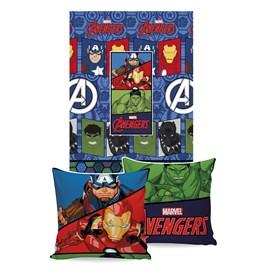 Manta Almofada Avengers Jolitex Ternille