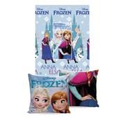 Manta Almofada Frozen Jolitex Ternille