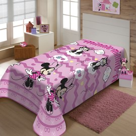 Manta Almofada Minnie Mouse Jolitex Ternille