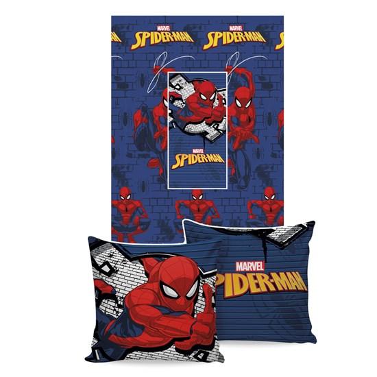 Manta Almofada Spider-Man Jolitex Ternille